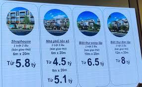 Giá bán aqua city thấp hay cao so với 1 đô thị vệ tinh?