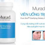 Review viên uống trị mụn Murad có mang lại hiệu quả?
