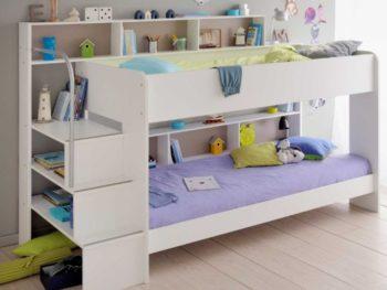 Thiết kế giường tầng thông minh đảm bảo an toàn cho bé